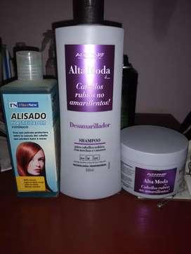 Vendo productos para peluquería