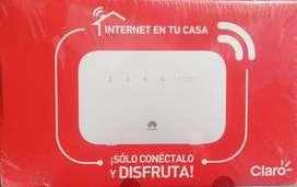 Internet claro, 10 megas de velocidad sin costo de instalación