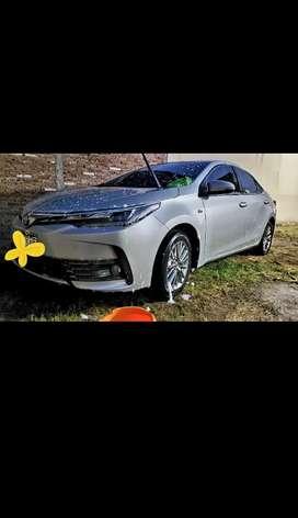 Toyota corolla cvt cuero