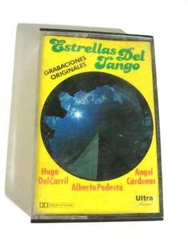 Cassette Estrellas Del Tango Hugo Del Carril Podesta Cardena