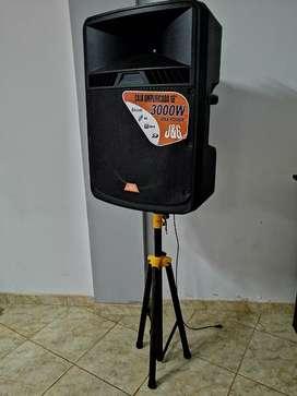 Amplificador 18'' J&G 3000W