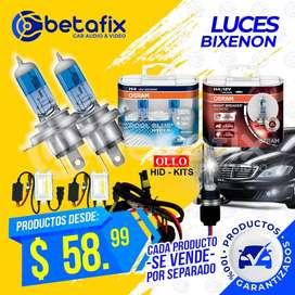 LUZ XENON Y BIXENON DE ALTA CALIDAD BETAFIX DESDE