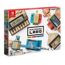 Nintendo labo kit variedad nuevo!