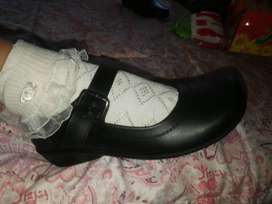 zapatos de cuero , niñas, juvenil