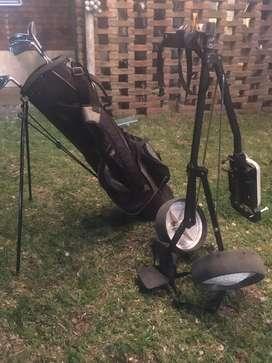 Carro mas bolso Golf