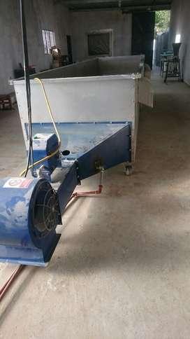 Secadora de cacaco Acero Inoxidable