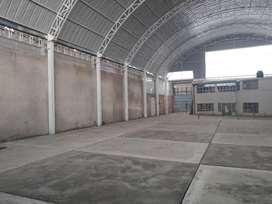 Alquiler local comercial almacén 805m2 Huancayo con oficinas