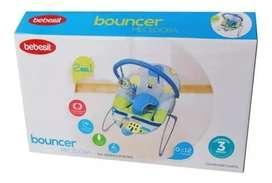 Silla Mecedora Bouncer Azul marca Bebesit