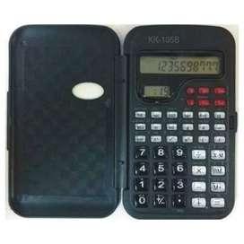 Calculadora Cientifca Kk105b Con Reloj Digital Y Tapa