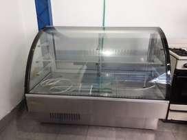 Nevera de exhibición y refrigeración