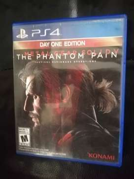 Metal Gear Solid Panthom Pain PS4 Play 4 Cambio o Vendo