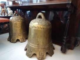 Campanas chinas antiguas gran tamaño
