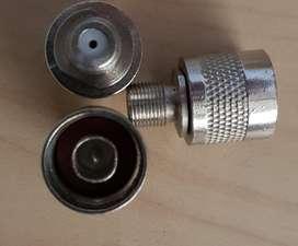 Conector N cable coaxial adaptador amplificador señal