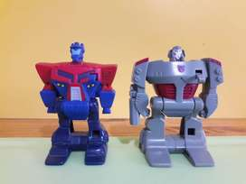 Art 35 Tranformers Coleccion 2008 Mc Donalds Burger King