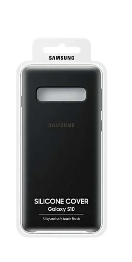Forro Negro x 2 Mate Samsung S 10 Original Nuevo + Entrega Bogotá
