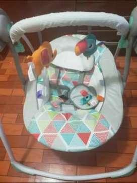 Mecedora para bebé