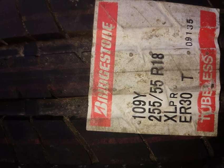 Cubiertas Bridgestone nuevas 255/55 R18 0