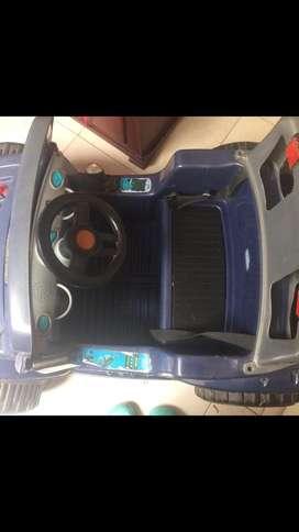 Carro electrico para cambio de bateria