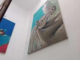 Fotografías de Bogotá, pinturas al óleo, dibujos desde 174 mil.