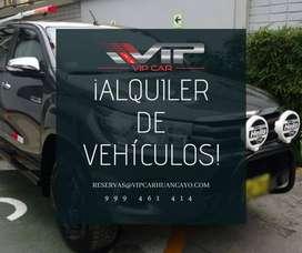 ALQUILER DE CAMIONETA 4X4 EN HUANCAYO-JUNÍN-PERU, CAMIONETAS CERRADAS SUV, MINIVANS, COMBI Y OTROS