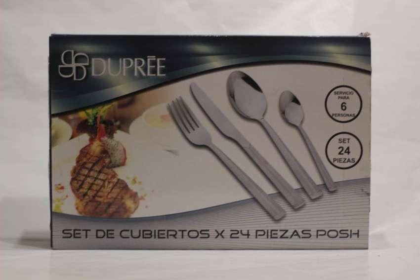 SET DE CUBIERTO X 24 PIEZAS DUPREE