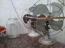 ventilador antiguo SIAM  De chapa funcinando