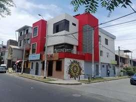 Edificio COMERCIAL de 3 pisos en esquina espaldas del Real Plaza 1 cdra. De nueva Universidad Técnica del Perú UTP
