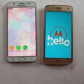 Vendo dos Teléfonos  SAMSUNG J7/ G5 PLUS EXCELENTE ESTADO FUNCIONANDO