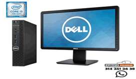 Oferta Pc Dell Intel Core I3 ghz 3.30 con monitor 19 garantía 6 meses