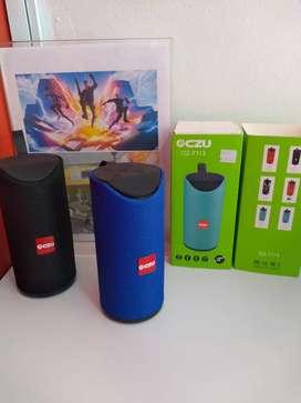 Parlante o speaker Bluetooth portátil