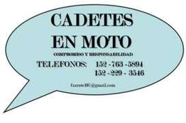 Mensajería motoflet cadete envíos reparto delivery