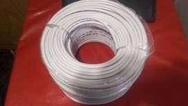 Usado, Cable coaxil Rg 6 segunda mano  Mar del Plata, Buenos Aires
