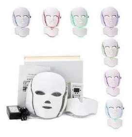 Mascara Facial Led Con Cuello Fo