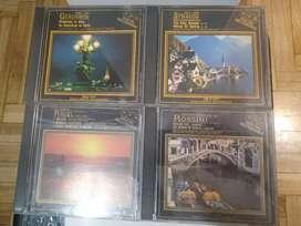 4 cds Rossini ,Strauss,Ravel y Gershwin todos x pesos 300