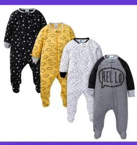 Pijamas ambos sexos Niño niña set x 4 unidades