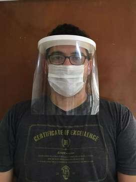 Protector facial tipo mascara