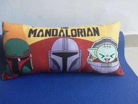 Cojines camisetas Diseños Exclusivos The Mandalorian, Grogu(Baby Yoda), Escandalosos. Mandalorian, Baby Yoda, Grogu