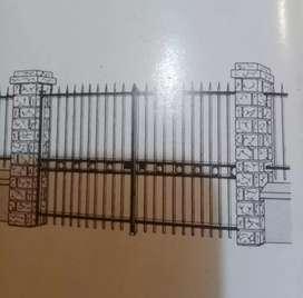 Puerta de conjunto o principal 3 x 3 metros
