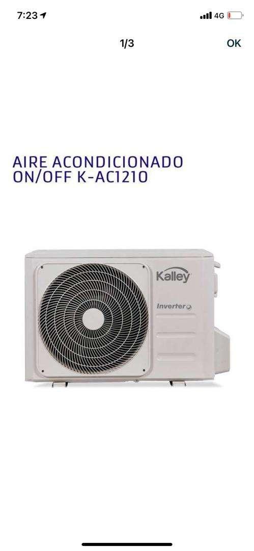 Aire acondicionado kalley  k-ac1210