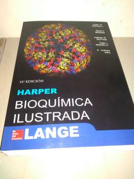 Bioquimica ILustrada Harper 31va Edicion Tamaño Grande A4