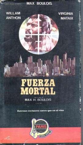 FUERZA MORTAL PELICULA EN VHS AUDIOMAX