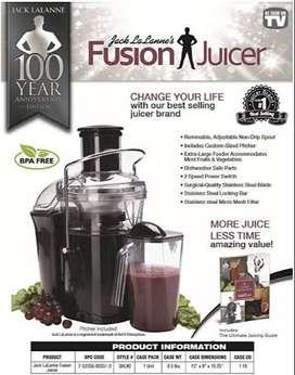 Extractor de jugos power fusion