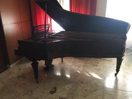 Piano Erard Media Cola Frances Antiguo En Muy Buen Estado