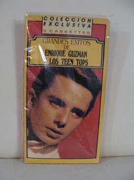 Grandes Exitos de Enrique Guzman y Los Teen Tops - 3x Cassette ARG