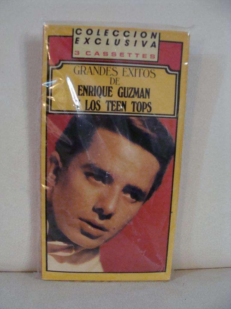Grandes Exitos de Enrique Guzman y Los Teen Tops - 3x Cassette ARG 0