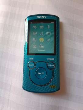 MP3 Sony color azul