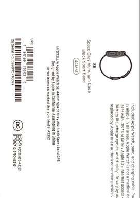 Vendo Apple Watch SE TOTALMENTE NUEVO Y SELLADO.