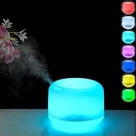 Gratis Envio Difusor De Aroma Humidificador Atomizador Led Colores