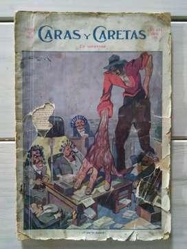 Revista Caras y Caretas No.758 Abril 1913
