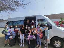 Tours o paquetes turisticos a Paracas, Lunahuana, La Huacachina, Cuzco, Caral y otros destinos
